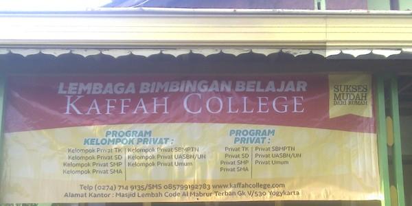 Visi dan Misi Kaffah College