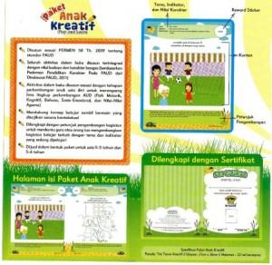 paket anak kreatif penjelasan